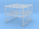 1/87th Shop or Warehouse pallet rack shelving (2)