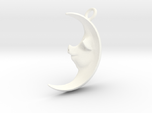 Pig in the Moon Pendant