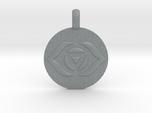 AJNA THIRD EYE Chakra Symbol jewelry Pendant