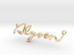 Alyson First Name Pendant