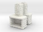 Stone Fireplace (x2) 1/87