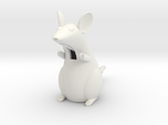 Rat with a movable tail and tongue
