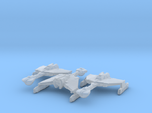 Klingon D6 1/7000 x3