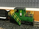 N-scale quench locomotive (LEFT-hand version)