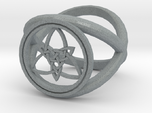 Wiccan Power Of Three Ring (Model Two)