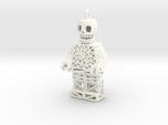 Los Muertos Lego Man Key Chain