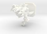 Fire elemental miniature