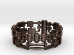 Mecha Ring (size 15ish in metal)