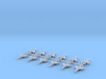 1/700 MIG-21 Fishbed (x12)