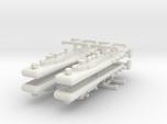 9 Air Torpedeo Boat Tender x4
