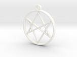 Unicursal Hexagram Pendant