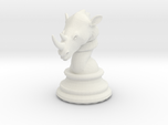 Chess piece – Rhino as Rook