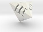 Triakis dice (hollow Roman)