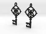Old Key Earrings