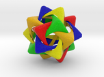 Compound of Five Rounded Tetrahedra
