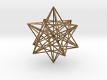 Stellated Dodecahedron with axes - 50mm