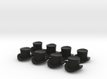 28mm Top hats (x8)