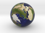 Earth Marble 0.75 inches in Diameter