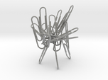 Paperclip Sculpture/Holder