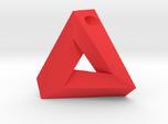 Penrose Triangle - Pendant (3cm | 3mm hole)
