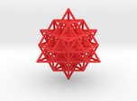 Sacred Geometry: 64 Grid Tetrahedron 35x1mm