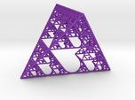Sierpinski tetrahedron of Love
