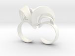 Ribbon Double Ring 6/7