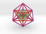 StarTetrahedron Cube nest 100mm Rainbow