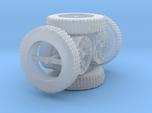 1/64 scale BFG tires and custom wheels 4x