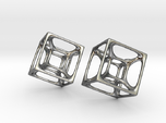 Hypercube Earrings