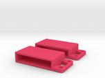 Sliding belt loop with accessory loop (2-pack)