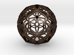 Compound of two pentagonal hexecontahedra