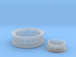1/8 Front Wire Wheel (rim/hub) for 1/8 Revell Deuc