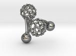 C60 (Fullerene) Cufflinks