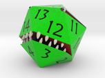 D20 Green Monster Figurine
