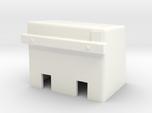 H0e Betonprellbock Aufsatzmodell