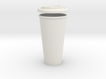 BJD Doll Coffee Cup and Lid