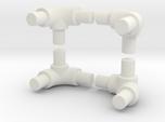90 degree bend tube for roll bar