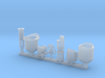 Detail parts for 2-6-0 loco conversion [set A]