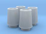 1/25 K&N Cone Style Air Filters TDR 4630