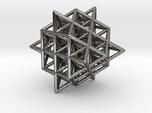 Isometric Vector Matrix - 64 Tetrahedron Grid