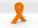 Standing Cancer Ribbon - She Is Fierce