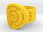 Sinestro FF Ring (Sz's 5-15)