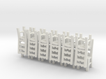 Ladderback Chairs HO Scale X12