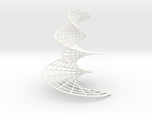 DNA earring   3 inches