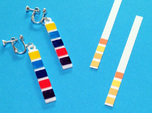 pH Litmus Paper Earrings