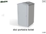 Dixi Portable Toilet (n-scale)