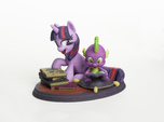Mane Six #6 - Twilight Sparkle & Spike