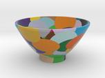 DRAW bowl - random sphere matrix