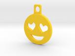 Heart Eyes Emoji Keychain